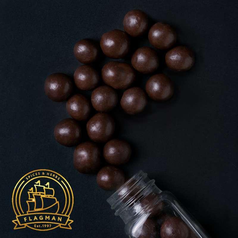 Купить Фундук в черном шоколаде 4 кг