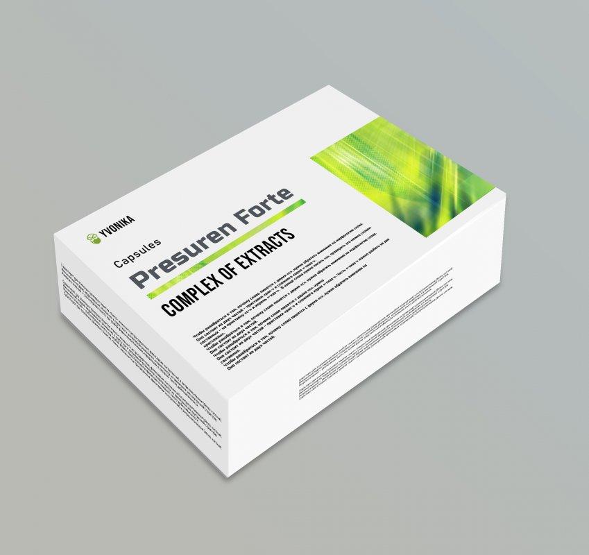 Presuren Forte (Пресурен Форте) - капсулы от варикоза