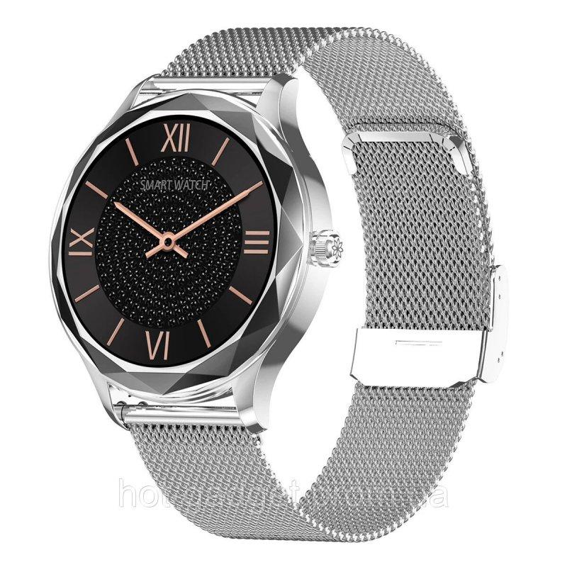 Купить Смарт-часы NO.1 DT86 (тонометр, пульсоксиметр) Серебро