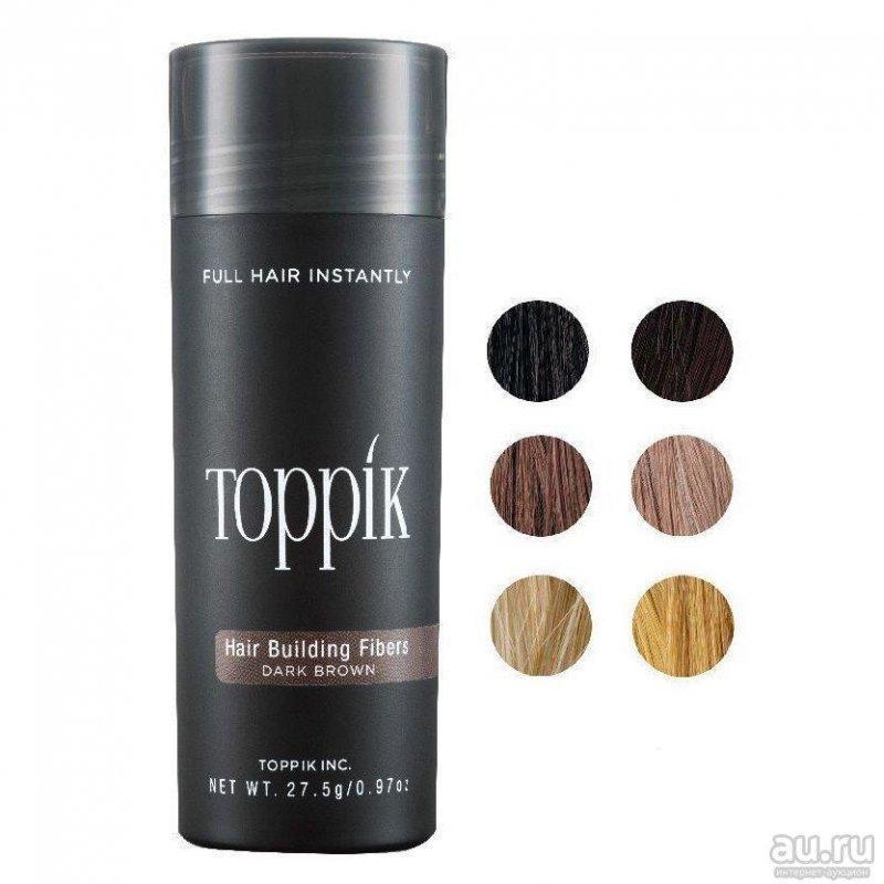 Купить Загуститель для волос Toppik Hair Building Fibers grey - седой