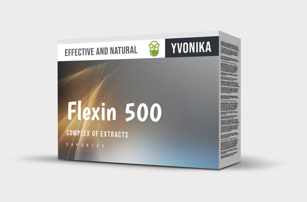 Flexin 500 (Флексин 500) - капсулы для суставов