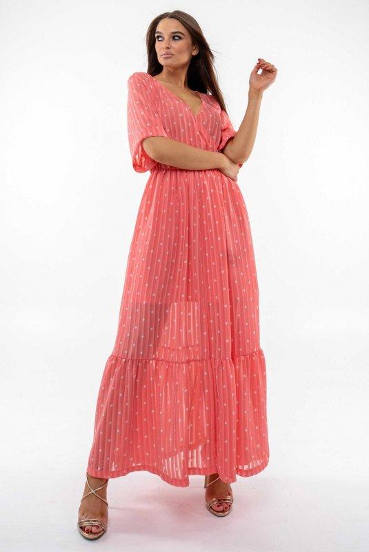 Купить Платье Ри Мари Барбара ПЛ 1420 52 коралл