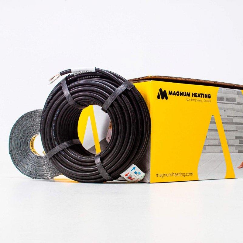 Купить Комплект нагревательного кабеля двужильного MAGNUM Cable C&F HC 30/600/20