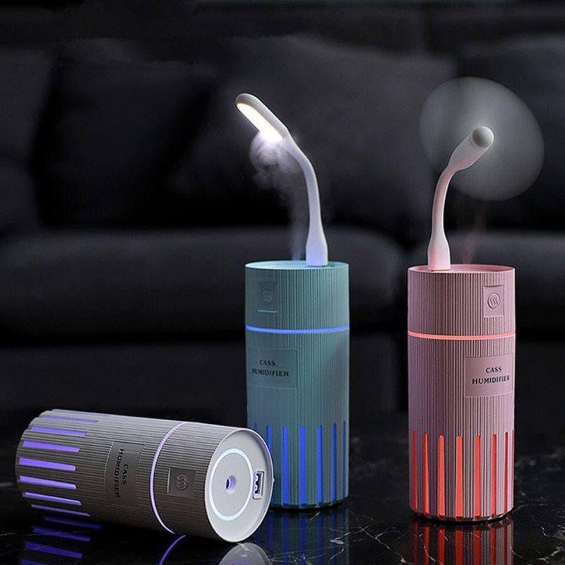 Ультразвуковой увлажнитель воздуха Cass 2в1 Ночник LED подсветка