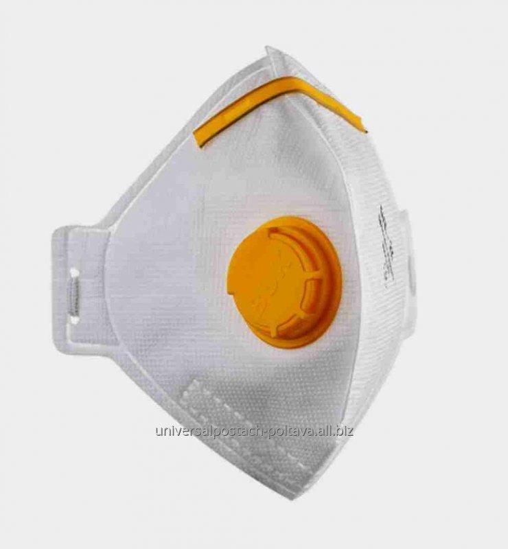 Купити Напівмаска фільтруюча (респіратор) БУК - 2К, з клапаном (упаковка 10 шт.)