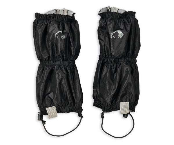 Купить Гетры короткие треккинговые Tatonka Gaiter Ripstop short light, цвет черный
