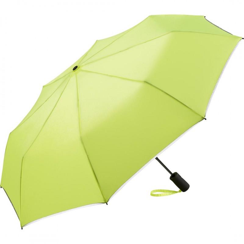 Купить Складной зонт Fare 5547 неоновый желтый