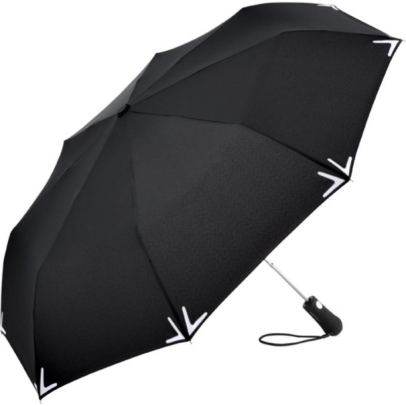 Купить Складной зонт Fare 5571 черный с фонариком