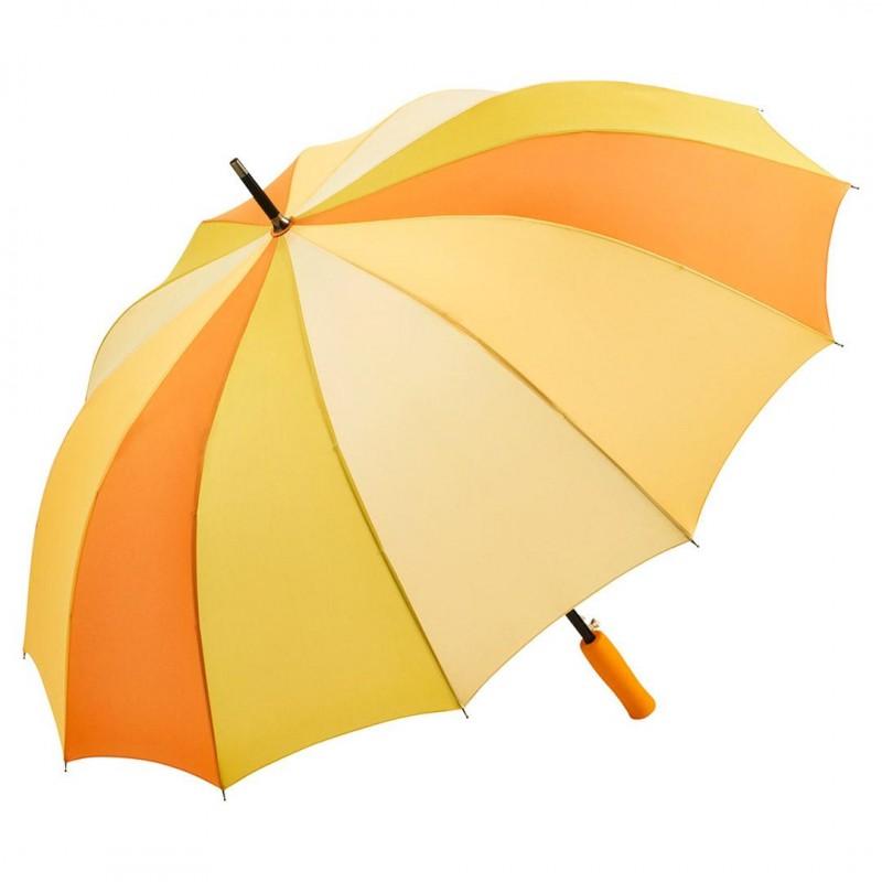 Купить Зонт-трость Fare 4584 комбинированный желтый