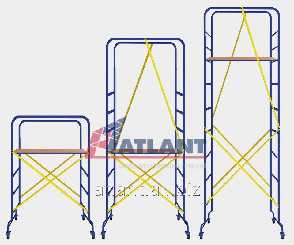 Мини-подмости «Мастерок» передвижные из металла от ЗМК Атлант