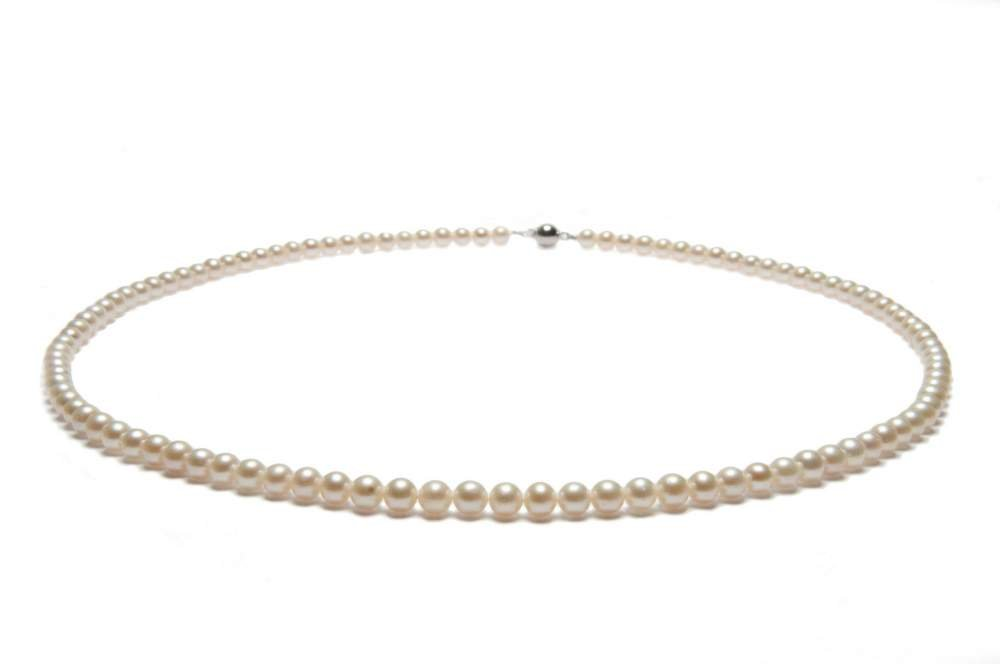 Купити Намисто з білих перлів