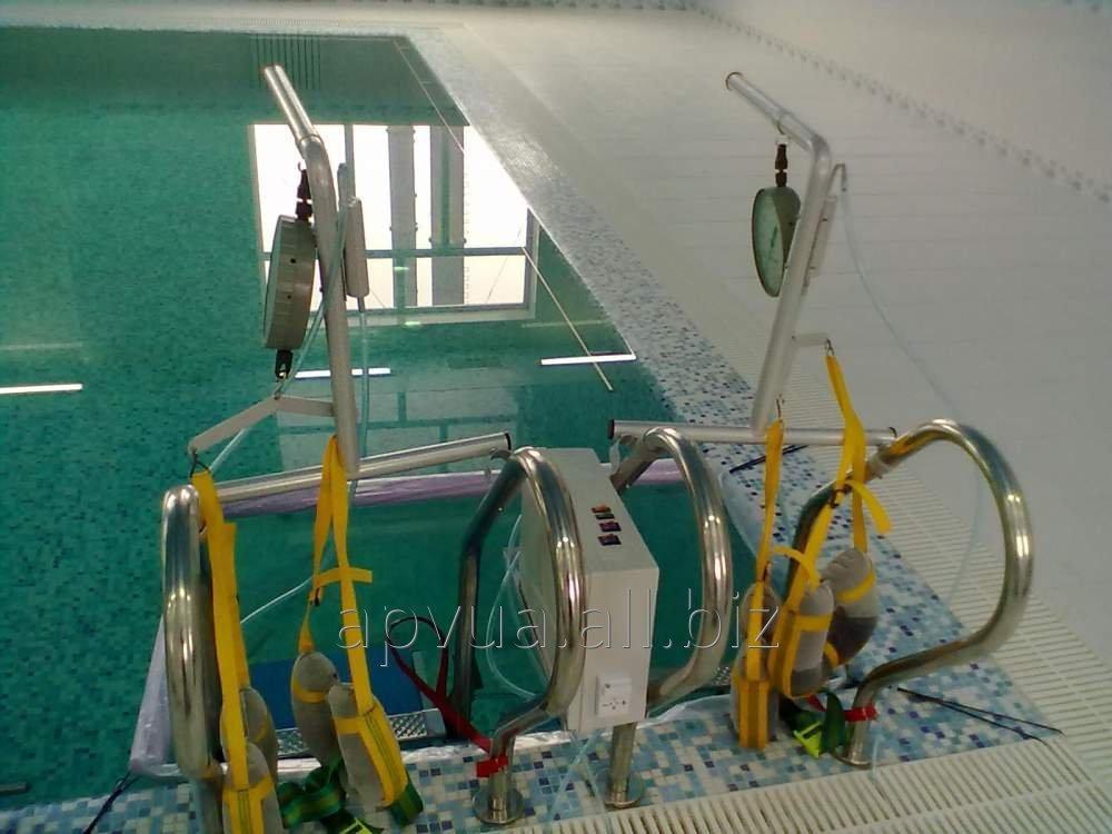 Оборудование для дозированного подводного вытяжения позвоночника
