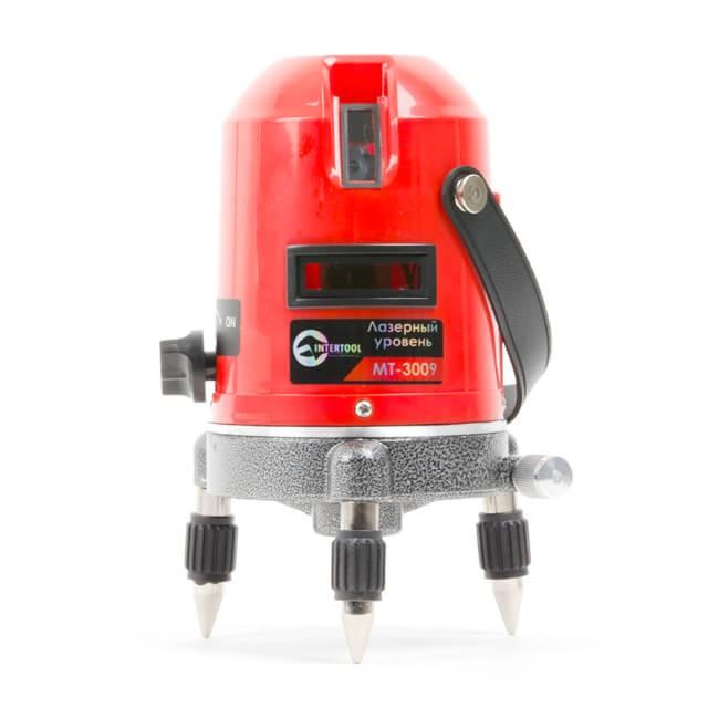 Купить Уровень лазерный 2 лазерные головки. INTERTOOL MT-3009