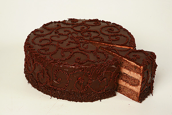 шоколадные бисквитные торты фото