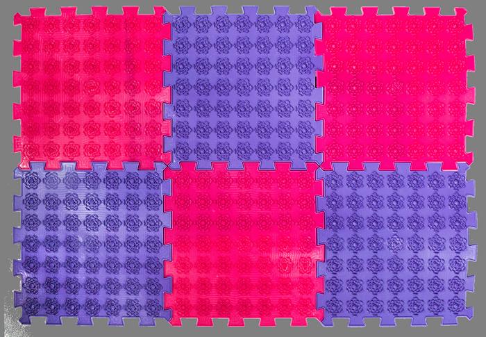 Купить Акупунктурный массажный коврик Лотос 6 элементов
