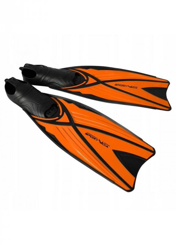 Купить Ласты SportVida SV-DN0006-XL Size 44-45 Black/Orange