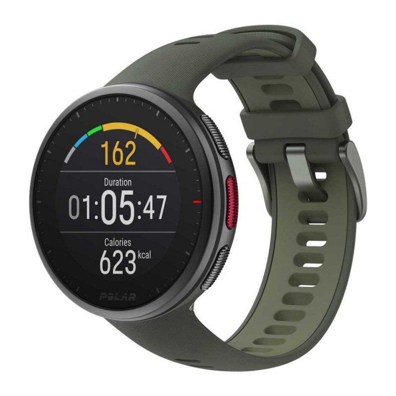 Купить Мультиспортивные часы Polar Vantage V2 Green р.M/L (*PL-90083653-green), зеленый