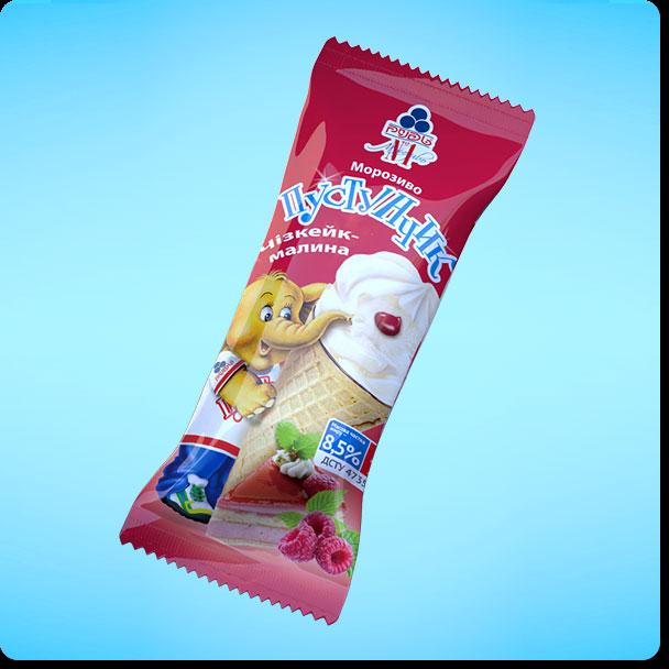 Купить Мороженое Пустунчик. Чизкейк-малина