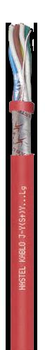 Купить Кабель для пожарной сигнализации Hastel Kablo J-Y(St)Y Lg - монтажный (установочный) кабель, купить в Киеве по лучшей цене
