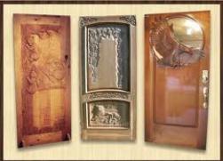 Купить Двери деревянные резные