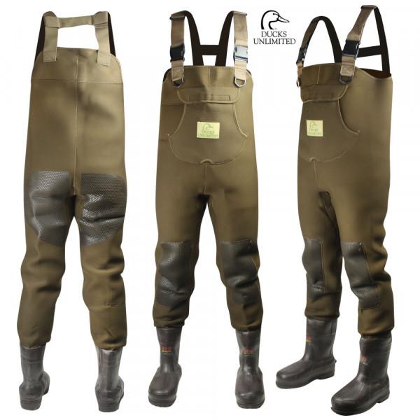 Забродный костюм для охоты Ducks Unlimited Mudslide 3.5mm 600g Waders