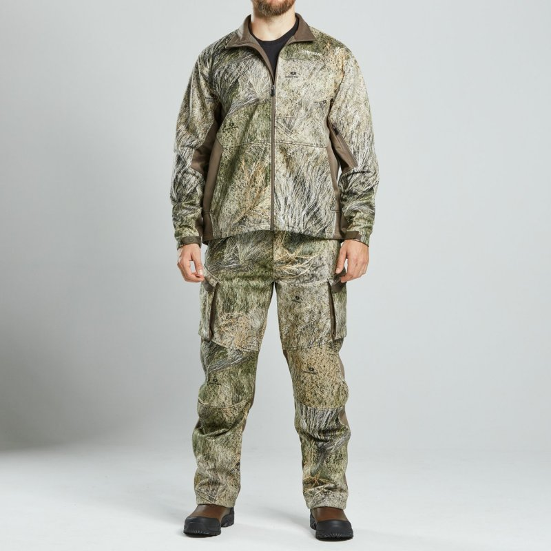 Костюм для охоты демисезонный Magellan Outdoors Men's Mesa Softshell Mossy Oak Brush