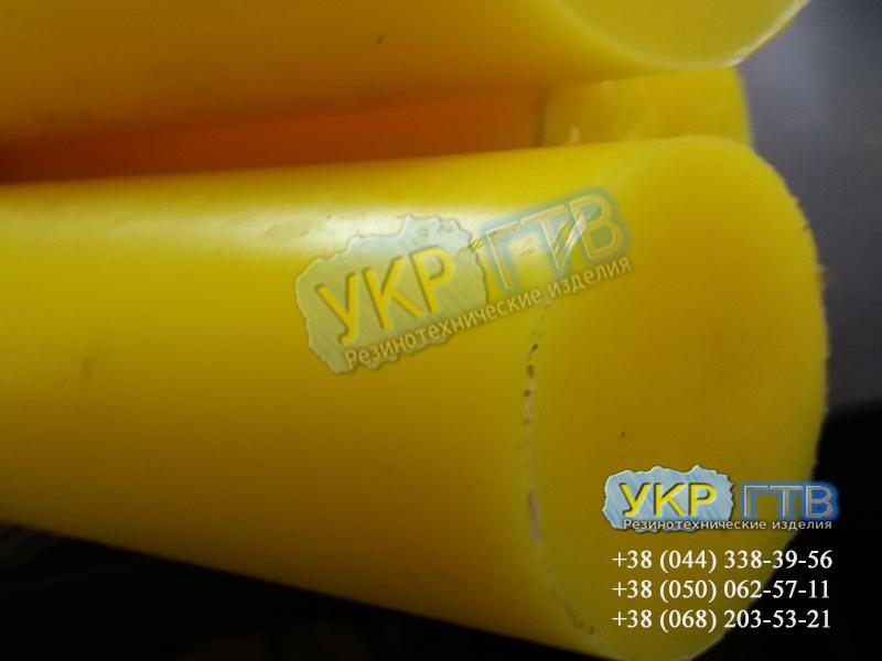 Полиуретановый стержень длина 0,5м/1м диаметр 20-80мм ГОСТ 14896 - 84