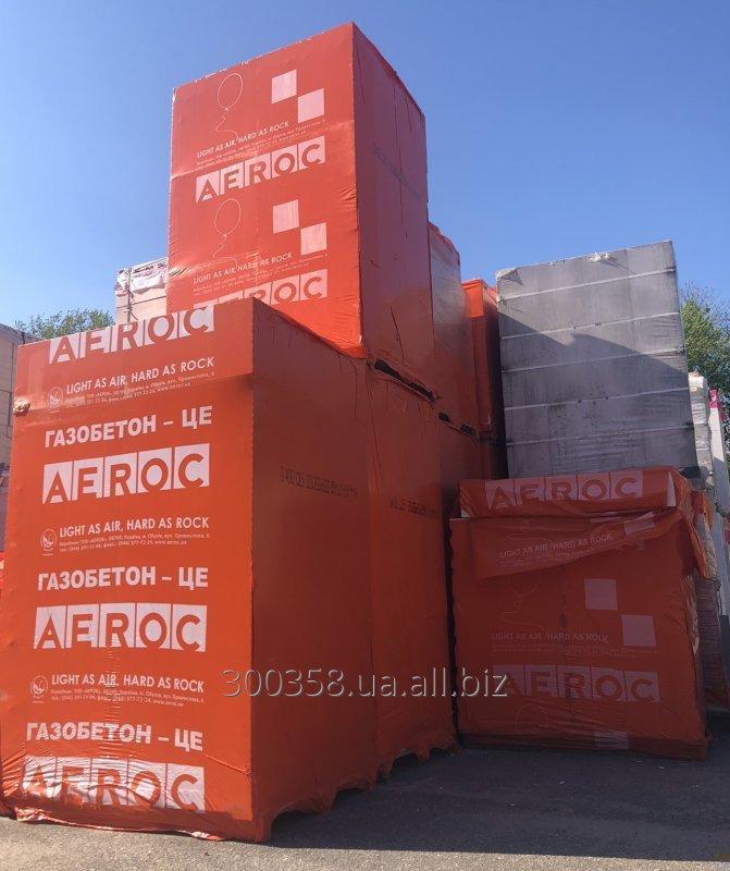 Купить Газоблок (газобетон) Аерок (AEROC)