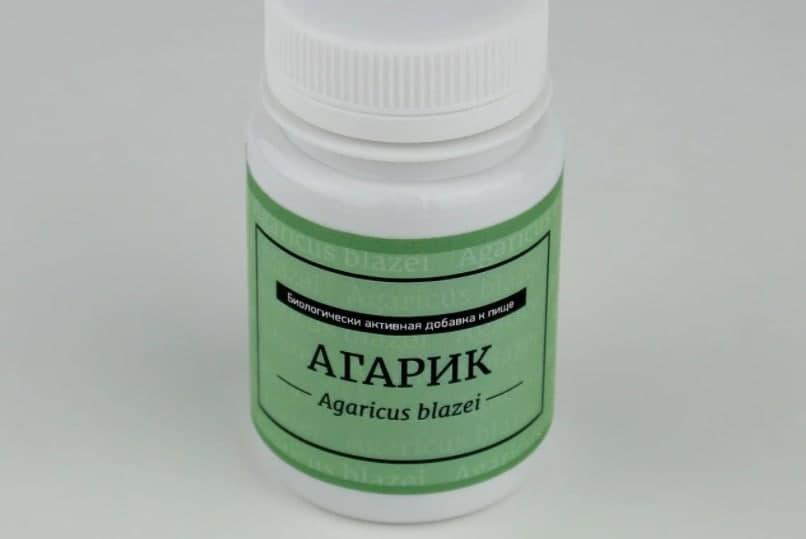 Агарик - капсулы для ускорения выведения токсинов