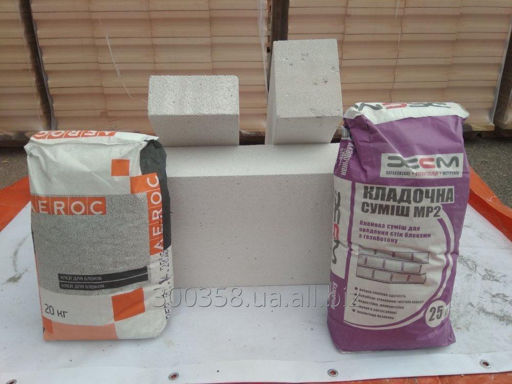 Купить Клей для кладки газобетона Аерок (AEROC) и KHSM (ХСМ)