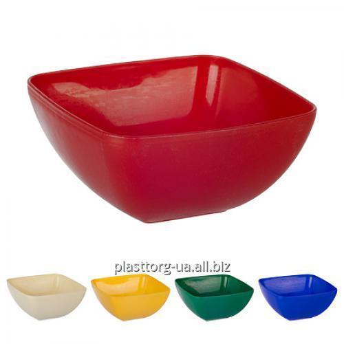 Купить Миска-салатница квадратная 0,5 л. без крышки