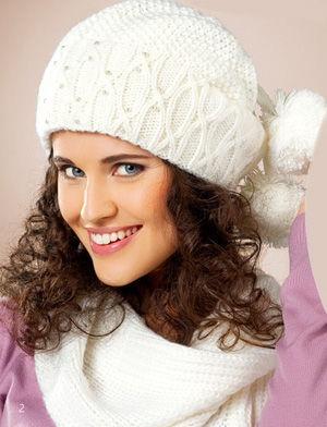enfant sans précédent ordre Caps zhenskiye.wika 12532 Headdresses Sets (hat and scarf) Producer:  Pawonex Collection: 2012