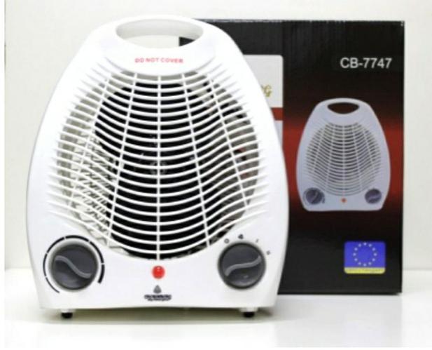 Купить Тепловентилятор Crownberg CB 7747 2000 W Обогреватель электрический конвектор универсальныйр