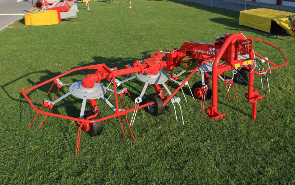 Четырехроторный ворошитель SIP SPIDER 400 A