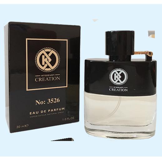 Мужская парфюмированная вода KREASYON CREATION 3526, 30 мл