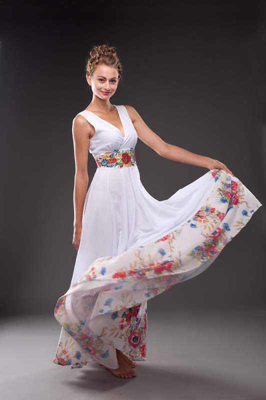 "Плаття ""Маки"" купити в Рівне d1a99f030d75f"