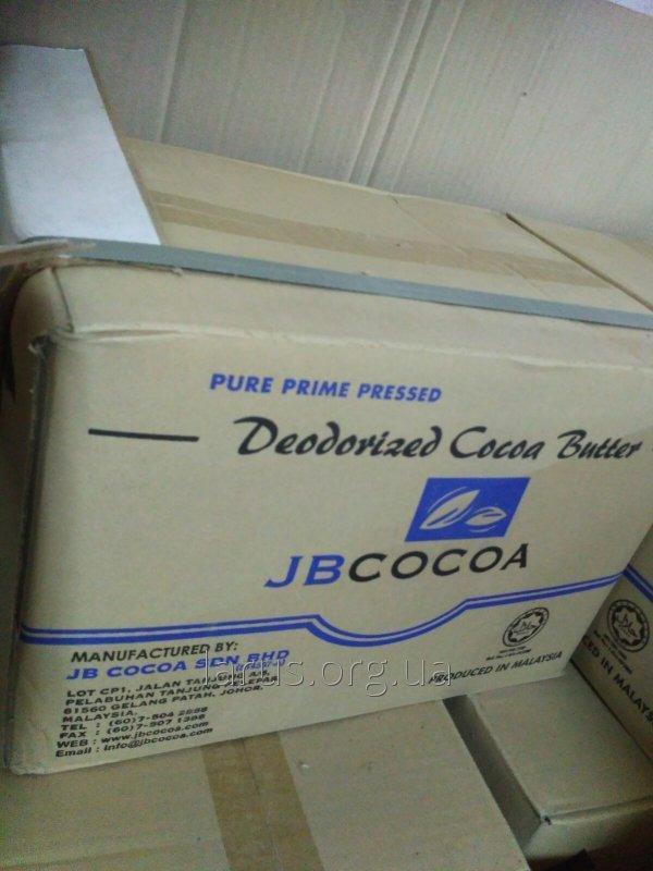 Какао-масло натуральное/ дезодорированное JB (Малайзия), ADM