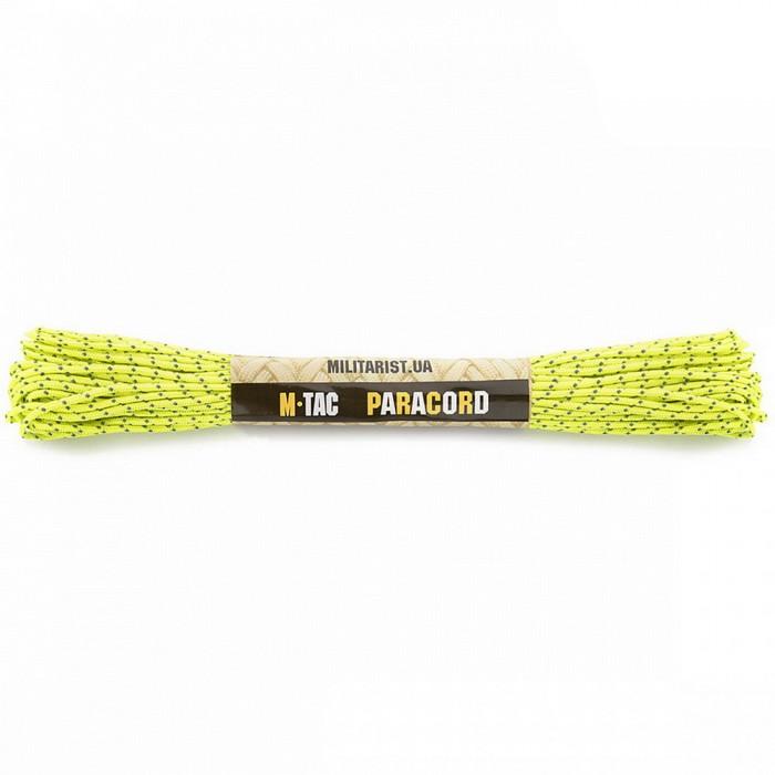 Acquistare M-Tac paracord Minicord riflettente giallo neon 15 m