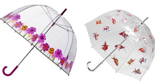 Оригинальные зонты: необычные женские зонты