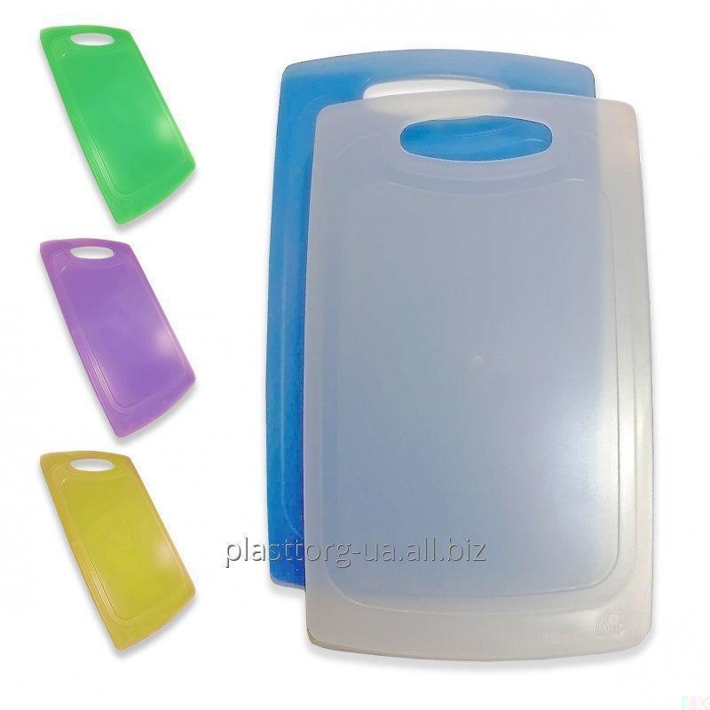 Доска кухонная пластиковая, 31*19*0,4 см