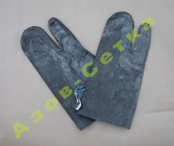 Резиновые перчатки БЛ-1 (костюм ОЗК), купить (цена) в Украине