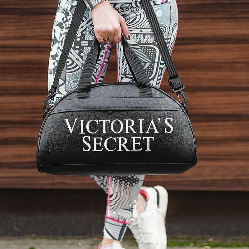 Купить Черная фитнес-сумка Victoria's Secret