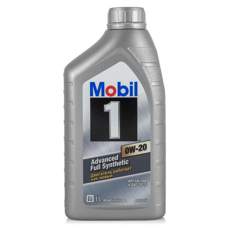 Купить Масло моторное Mobil 1 0W-20 1л