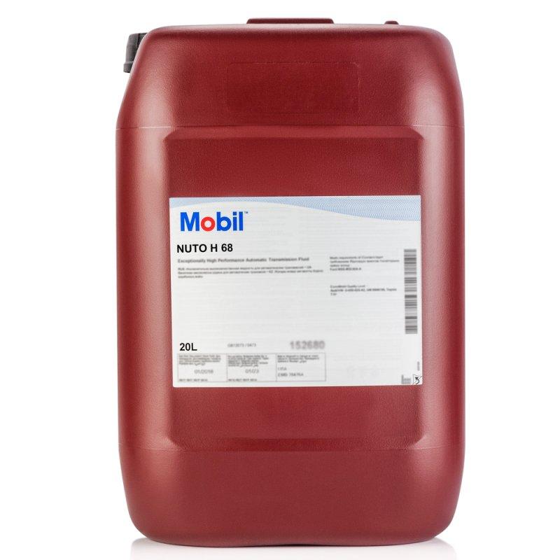 Купить Гидравлическое масло Mobil Nuto H 68 20л