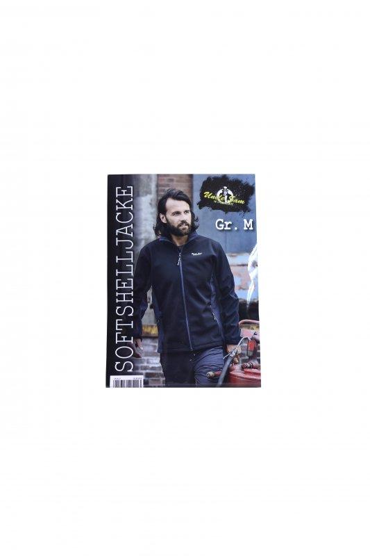 Купить Мужская куртка 1 M черный-серый K04-220060