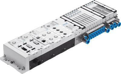 Пневмоостров со встроенным контроллером для управления арматурой и клапанами на фильтр прессах