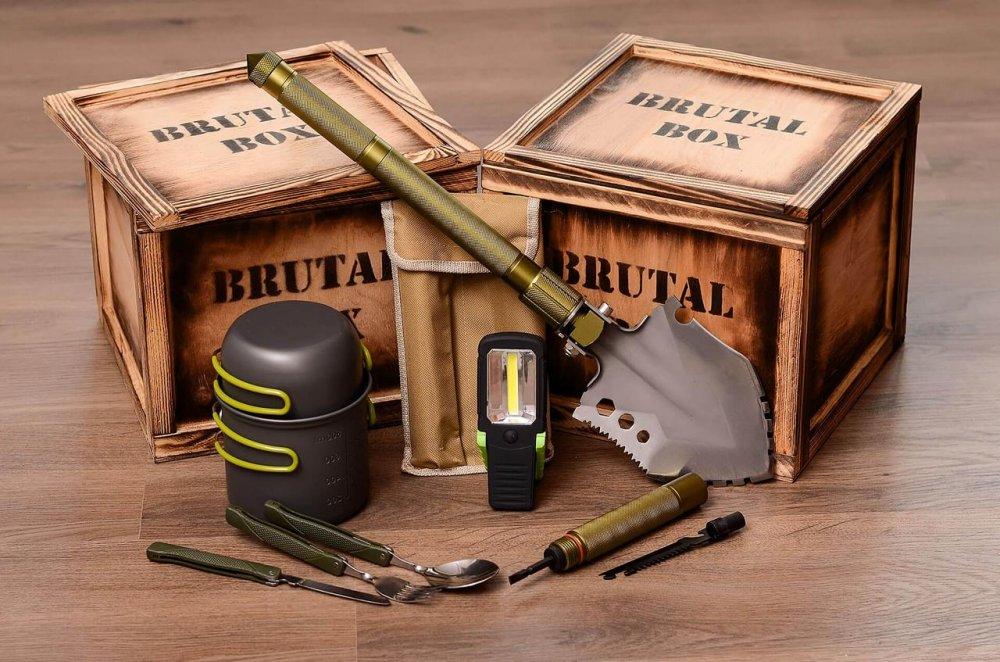 Купить Подарочный набор Brutal Box ТУРИСТ BOX оригинальный подарок на день рождения