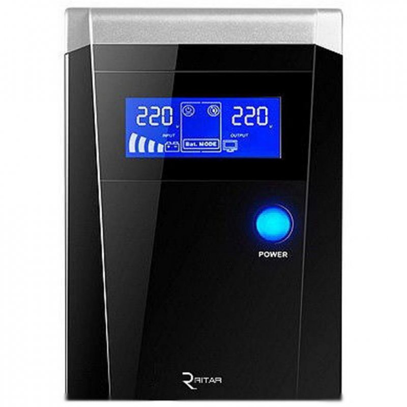 Купить Источник бесперебойного питания Ritar RTSW-600 LCD,12V (RTSW-600 D12)