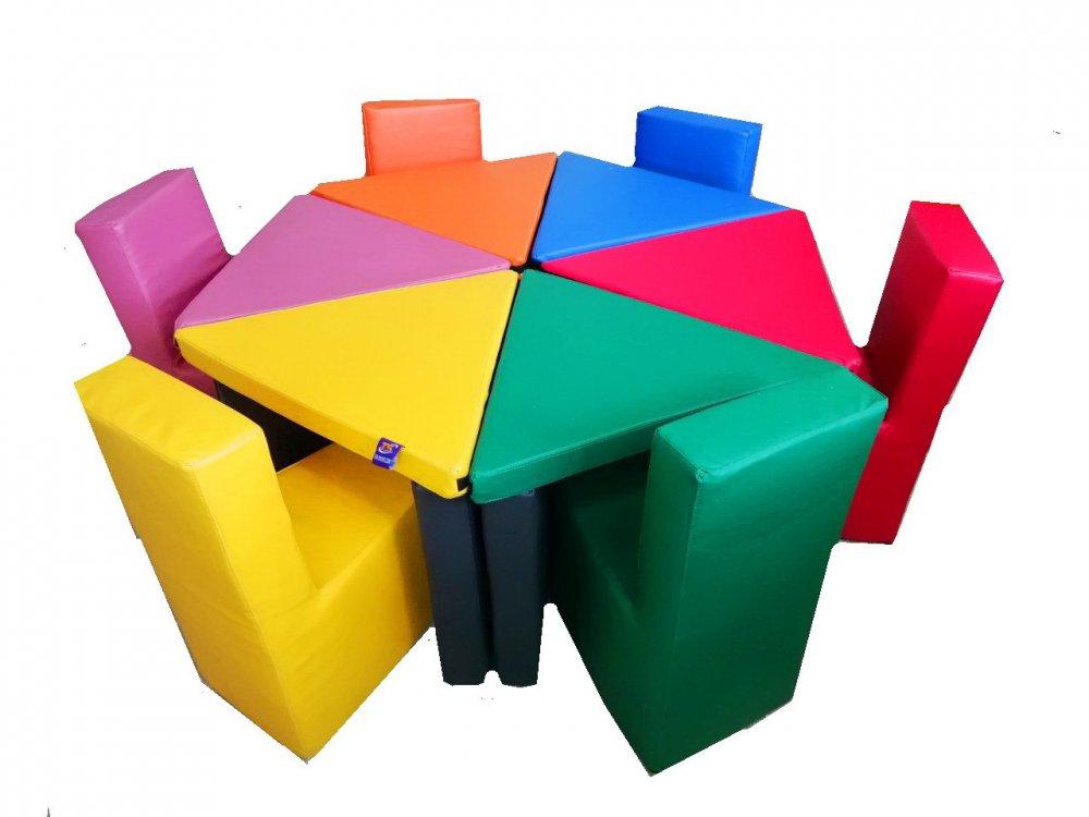 Купить Комплект игровой мебели Цветочек TIA-SPORT