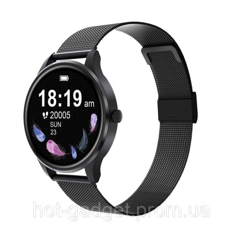Купить Смарт-часы Bakey G3 Gold (тонометр, пульсоксиметр) Черный